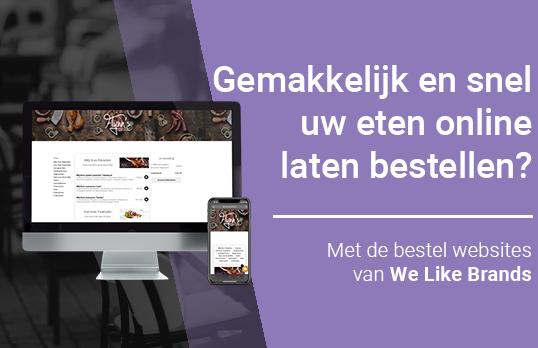 Uw eigen bestel website?